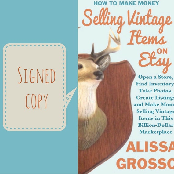 How to make money selling vintage items on etsy by alissa for How to sell things you make
