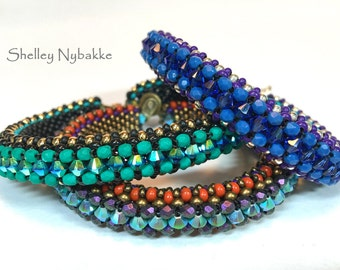 In Cahoots Bracelet  - pdf Instructions ONLY