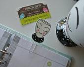 Girlie Cup planner clip
