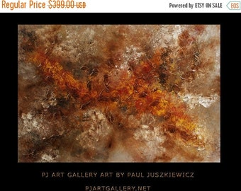 """15% OFF /ONE WEEK Only/ Gnessis abstract by Paul Juszkiewicz 34""""x48"""" minimalism multi knife"""