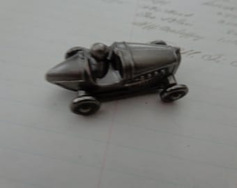 Car. Cast Metal Vintage collectable racing car