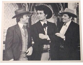 James Garner Studio Copy Photo Bret Maverick 1950s Western TV Series Maverick Publicity Promo