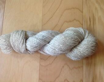 Hand Spun Shetland Sheep Wool Yarn 185 yards