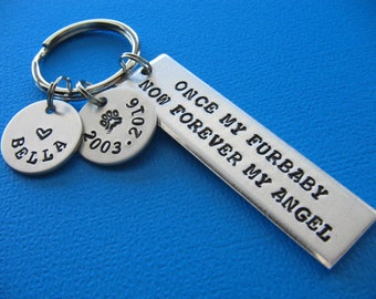 Pet Loss Keychain - Custom Memorial Keychain - Dog Loss Keychain - Custom Pet Keychain - Custom Pet Keychain - Pet Keychain - Friend Loss