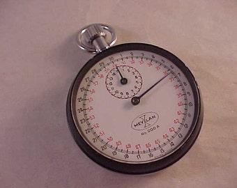 Swiss Meylan Stopwatch 7 Jewels Works Perfectly