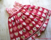 Girls Valentine Day Dress, Little Girls Valentine,Toddler Dress,Special Occasion,Pink,Red,Twirl Dress, Sizes 12MO,18MO,2T,3T,4T,5T,6.7,8