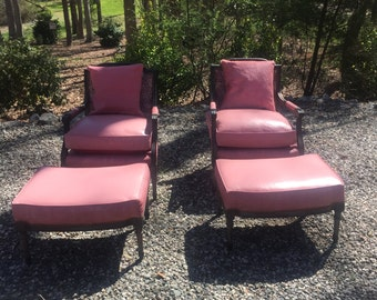 Royalty arm chairs pair
