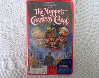 VHS The Muppet Christmas Carol Movie Unused Jim Henson & Walt Disney New Sealed