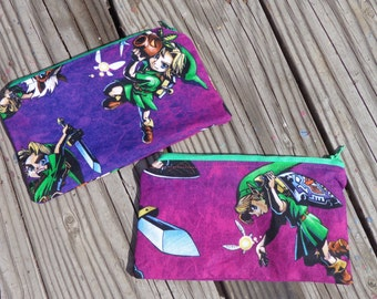 Legend of Zelda Majors Mask Young Link Pouch