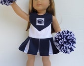 """18"""" American Girl Doll Penn State Cheerleader, Pompoms, Gym Shoes"""