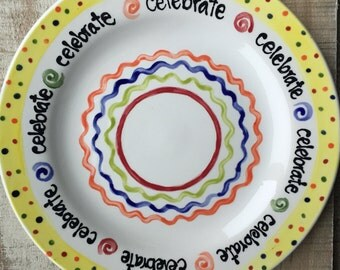 Special Day Celebration Plate