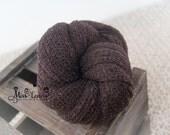 Dark Brown Newborn Stretch Knit Wrap, Newborn Rayon Wraps, Organic Color Newborn Wrap, Newborn Photo Prop Swaddle, Pregnancy Maternity Props