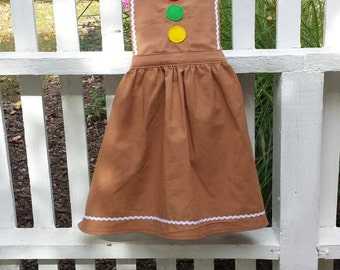 Child's Gingerbread Apron