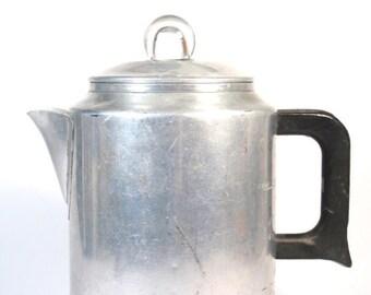 Aluminum Coffee Percolator for Stovetop