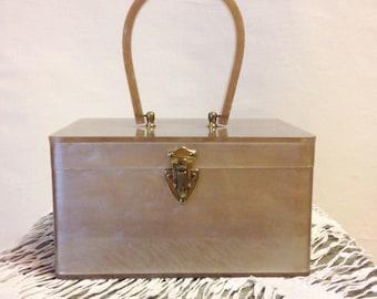 1950s Wilardy Lucite Box Purse