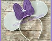 Daisy Bow Mouse Ears Headband by Twincess Bowtique - CUSTOM