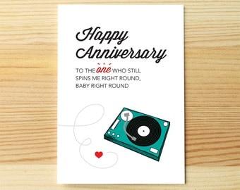 Anniversary Spin Round