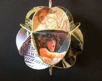 Aerosmith Album Cover Ornament Made Of Record Jackets - Steven Tyler