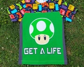 Get a Life video game T shirt boys size 10