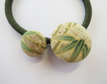 Japanese pure silk Hair accessories Bamboo design 168