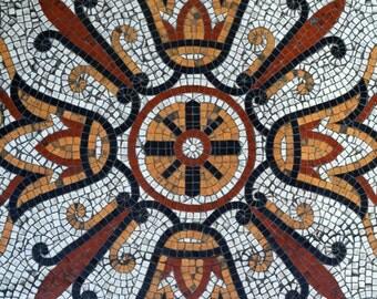 Mosaic Floor Digital Print
