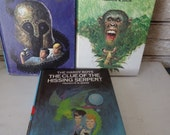 Vintage Hardy Boys Book Set of 3 Number 50's Various Years
