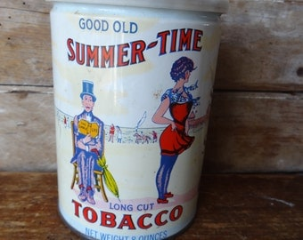 Vintage Tobacco Tin