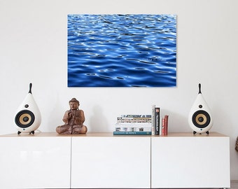 Blue Wall Art Decor water wall art | etsy