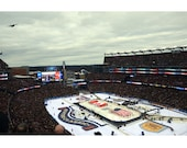 WINTER CLASSIC 2016 Anthem Fly Over Boston Bruins Montreal Canadians Gillette Stadium