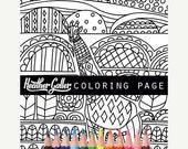 50% Off- Giraffe coloring, Animal Art coloring book, adult coloring book, coloring pages, adult coloring pages, coloring book for adults, pr