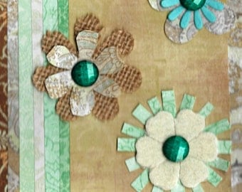 Small floral embellishment pack  for snail mail, scrapbooking, collage, card making, happy mail,art journalling