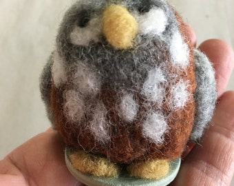 Needlefelted Owl