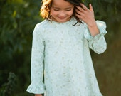 INSTANT DOWNLOAD- Marley Shirt & Dress (Sizes 2 to 10) PDF Sewing Pattern and Tutorial