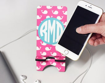 Monogram Cell Phone Stand