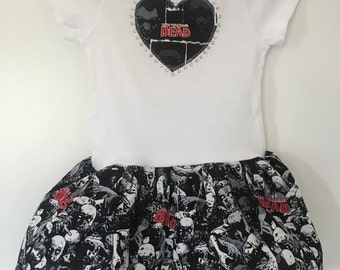 The Walking Dead Inspired Infant Dress