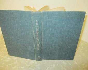 INVITATION TO THEOLOGY by Allen O Miller - Vintage Book 1950s