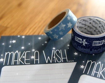 Make A Wish - A5 Stationery - 12, 24 or 48 sheets