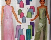 Simplicity 9729 Girls Dress up Tops, Skirt and Pants , Party clothes, Wedding, Formal Wear  Size 7 to 16 UNCUT