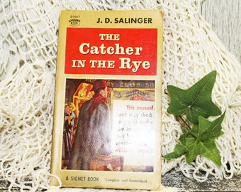 Catcher in the Rye by JD Salinger, paperback