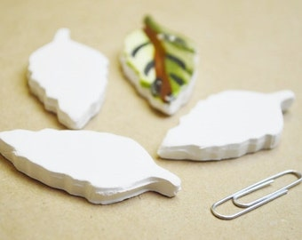 Bisque ware hearts- Set of 3