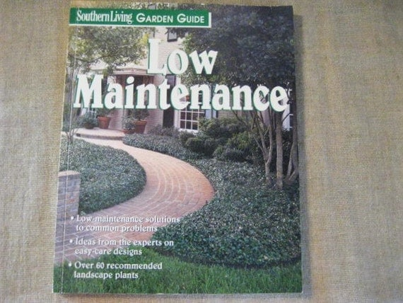 Southern living garden guide low maintenance how to book Southern living garden book