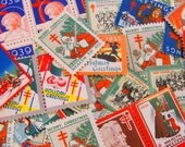 Season's Greetings 100 Vintage Christmas Seals Megamix 1930s Tuberculosis Traditional American Lung Association Flapper Boardwalk Empire