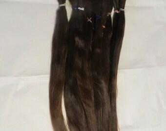 Blythe / BJD / MSD / Combed Doll Hair / Re root / Combed Suri Alpaca / Wig    (72)
