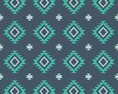 Riley Blake KNIT Aztec Teal Knit