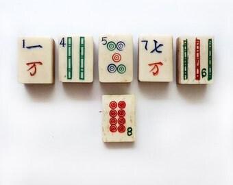 Six Mah Jong Tiles, Dovetail