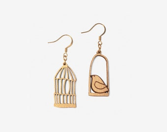GOLDEN FREEDOM, Loving Birds Collection by Materia Rica