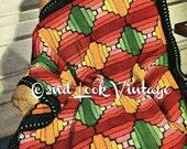 Vintage 1930s Crochet Pattern Log Cabin Quilt Afghan Digital Download PDF