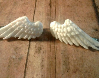 Anime, Angelic, Wing, Hair Clips, Cosplay, Costume, Glitter, Shiney, Pair, Special Occasion