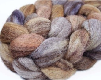 MEDIEVAL WALL Mixed BFL Roving - 4.0 oz