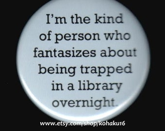 My Library Fantasy Button